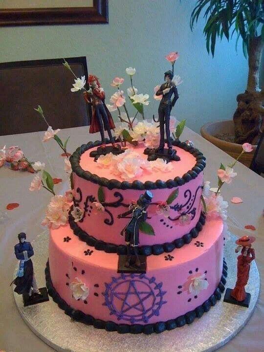 Black Butler Birthday Cake Anime Pinterest Black Butler