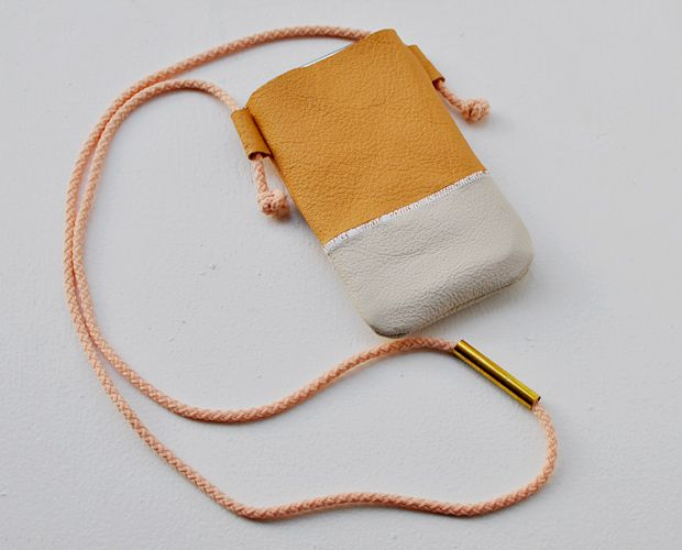 iPhone-Hülle aus Leder