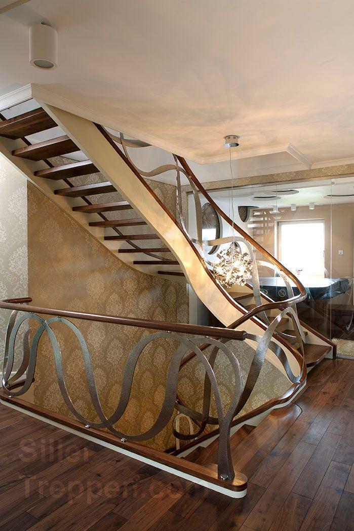 classic stairs custom railing design open plan