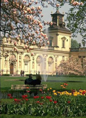 WilanowPalace and Park in Warsaw