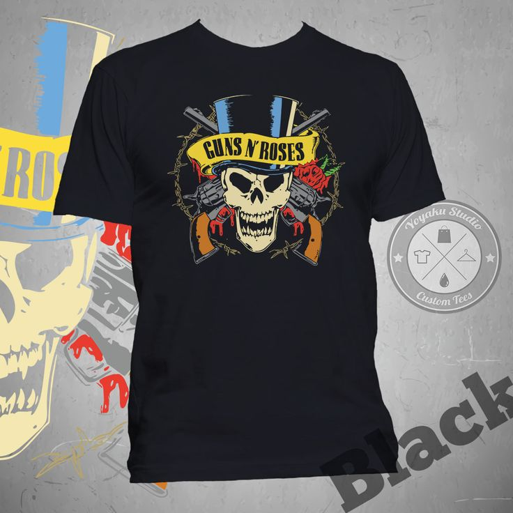 "Jual Kaos ""Guns n' Roses Skull"" - Yoyaku Shop | Tokopedia"