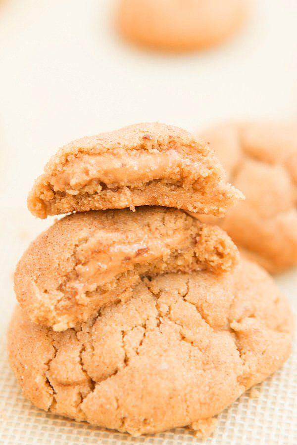 """""""Yok bana içi dışı her yeri fıstık ezmesi olan kurabiye lazım"""" diyenleri fıstık ezmesi komasına bu kurabiye sokacak!"""