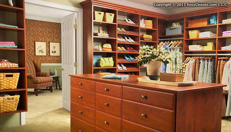 ..: Easycloset Com, Walkin Closet, Dreams Closet, Custom Closet, Closet Design, Closet Organizations, Master Closet, Bedrooms Closet, Walks In Closet