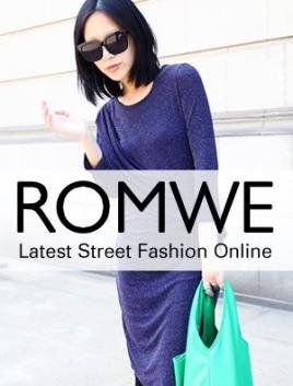 I'm learning all about Romwe  at @Influenster!