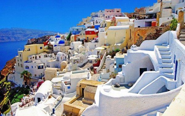 A belíssima ilha da Santorini, um destino tranquilo para casais apaixonados. - Viagem de Lua de Mel a Santorini