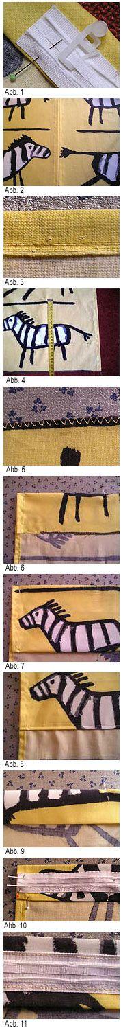 Vorhang selber naehen