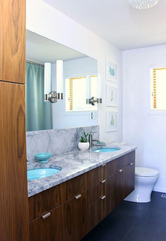 Mid Century Modern Bathroom Design Beauteous Design Decoration