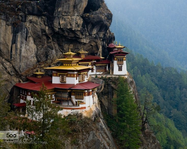 Photograph Tiger's Nest monastery, Bhutan by David Kuenley O on 500px