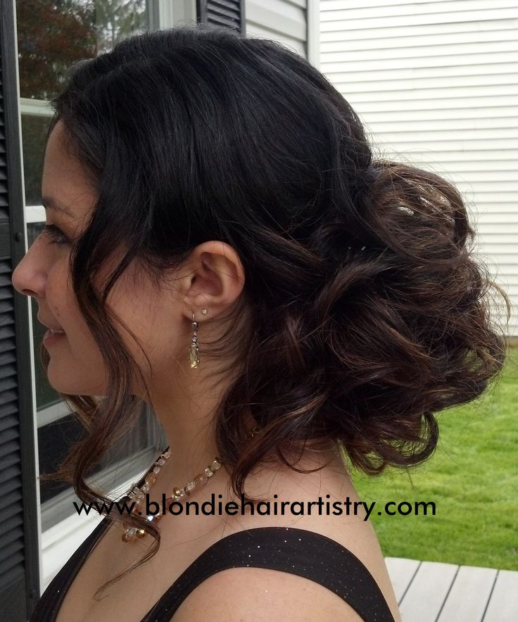 Perfect updo for long thick hair!