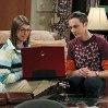 Still of Mayim Bialik and Jim Parsons in The Big Bang Theory