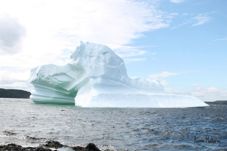 love the colors in this iceberg today