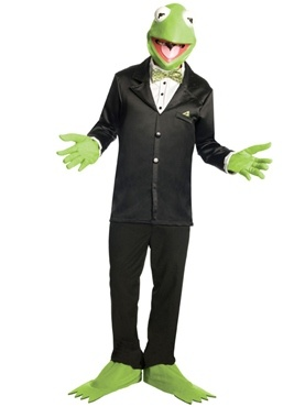 Is it 007 or a Frog?? Kermit Tuxedo Costume... love of my life.