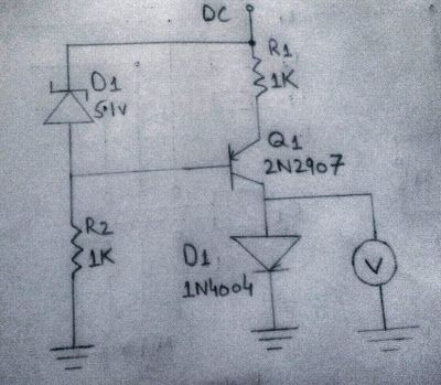 Freely Electrons: Circuit Diagram OF Constant Current Generator