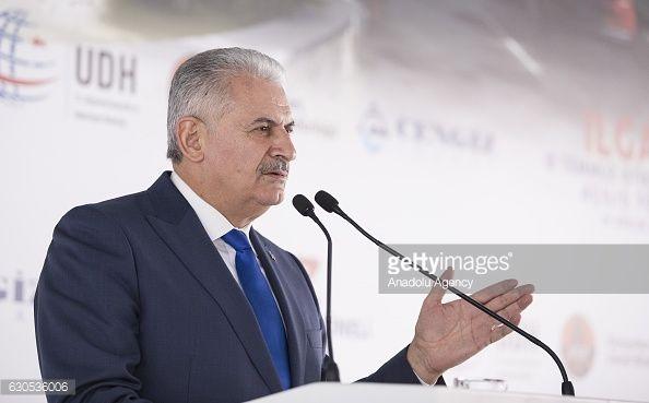 01-20 CANKIRI, TURKEY - DECEMBER 26: Turkish Prime Minister... #cankiri: 01-20 CANKIRI, TURKEY - DECEMBER 26: Turkish Prime… #cankiri