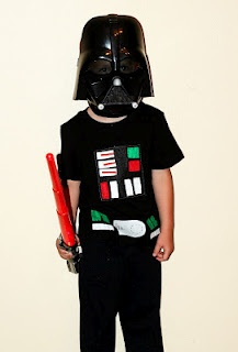 Darth Vader Costume T-shirt   For Gavin, already have the head mask