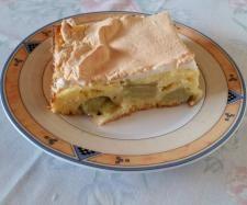 Rezept Rhabarberkuchen mit Quarkguß und Baiser von margrit09 - Rezept der Kategorie Backen süß