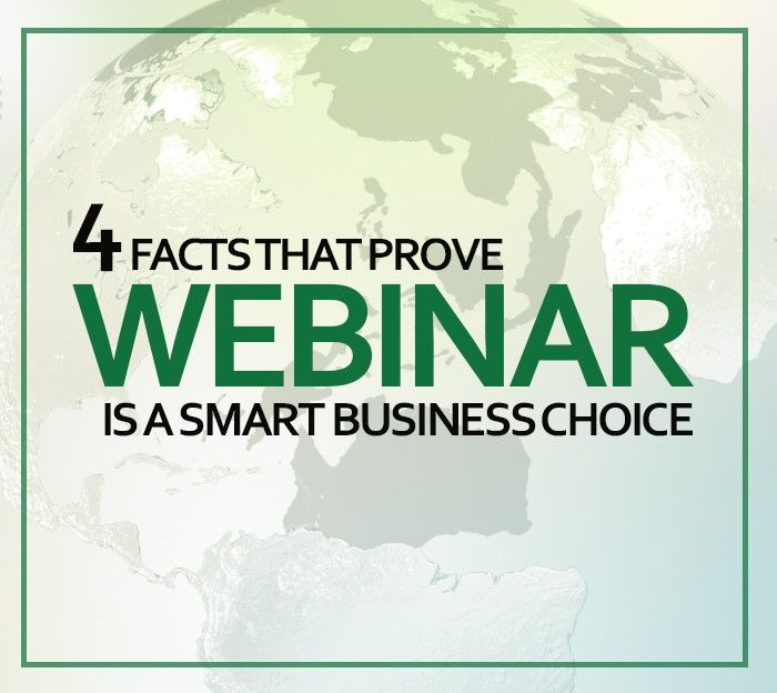 Webinars makes things easier for remote employees. More info here: