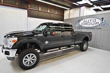 2012 Ford F350 Diesel Lariat FX4 Lifted Truck