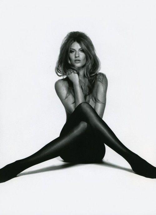 Gisele Bundchen struck Brigitte Bardot's iconic tights pose for Muse Magazine's summer 2010 issue.