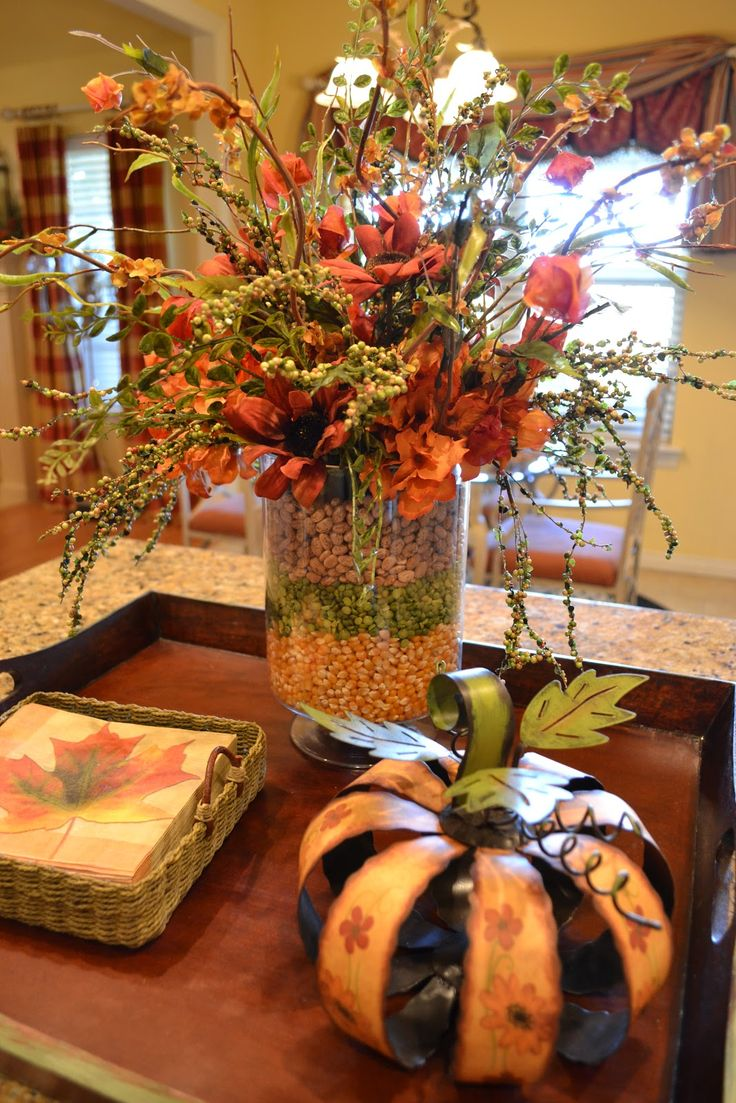 this is from Kristens creations: thinking about something similar for my Thanksgiving party