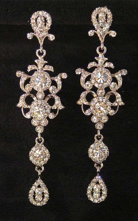chandelier earrings | chandelier earrings | Girl Tattoos Designs Gallery: Bridal chandelier ...
