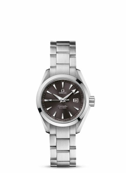 OMEGA Watches: Ladies' Seamaster Aqua Terra Quartz - Steel on steel £1750