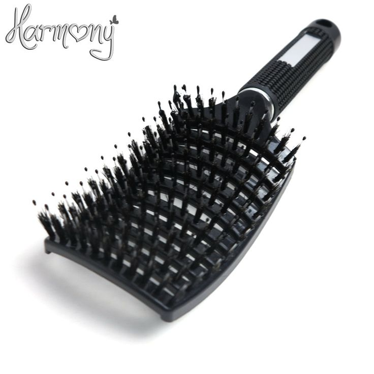 1 Piece New Scale Shape Nylon & Boar Bristle Brush. Hair Brush Anti-static Hairdressing Styling Hair Extensions Brush Item Type:BrushModel Number: anti-static curved hair brushMaterial: PlasticSize: anti-static curved hair brushName : Rubber & ABSsize of brush: 26 x 9 cmShipping and Delivery Varies Between 12 to 20 Days