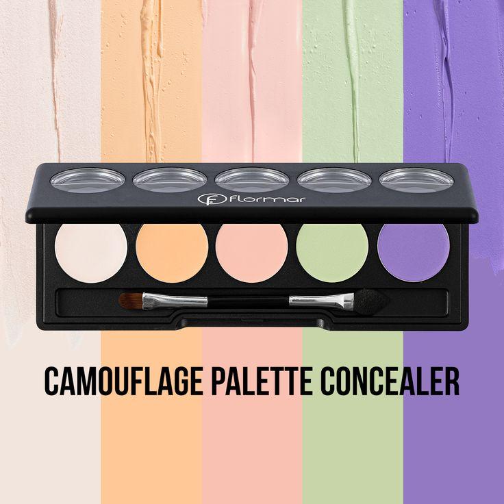 Camouflage Palette Concealer este potrivita pentru a ascunde imperfectiunile fetei si ajuta la mentinerea unui ten impecabil. Aduce solutii pentru orice tip de ten datorita texturii cremoase si a culorilor menite sa ne ajute in situatiile dificile.  http://www.flormarcosmetics.ro/ochi/camouflage-palette-concealer-8690604195510.html