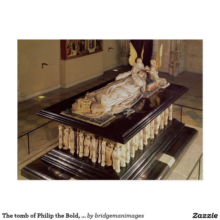 La tumba de Philip el intrépido, duque de Borgoña Postal