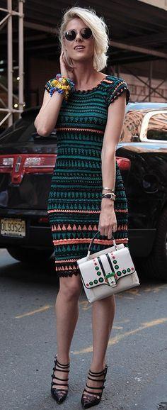crochet dress by Vanessa Montoro (Osinka.ru)                                                                                                                                                      More