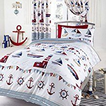 nautical-white-anchor-duvet-cover Best Anchor Bedding and Comforter Sets