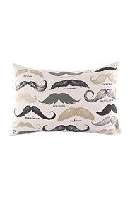 PRINTED MOVEMBER 40X60CM SCATTER CUSHION
