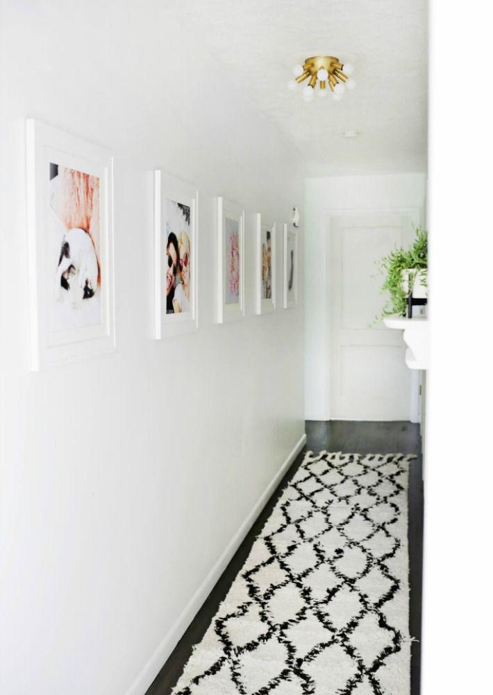 tal y como os contaba en este post de como decorar un pasillo estrecho los