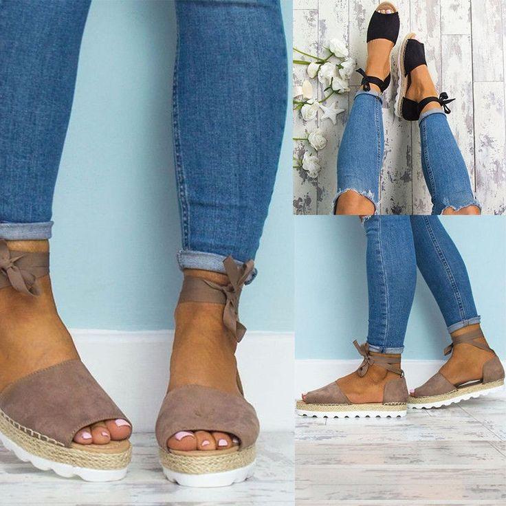 <b>Summer Women Shoes Sandals</b> Flip-flop Bandage Flat <b>Fashion</b> ...