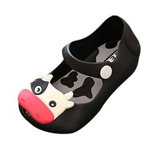 Oferta: 3.26€. Comprar Ofertas de Sandalias Zapatos De Verano Vaca Lechera Cabeza De Pescado Jalea Playa Para Niñas Niños - 25, Negro barato. ¡Mira las ofertas!