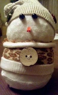 Instant snowman