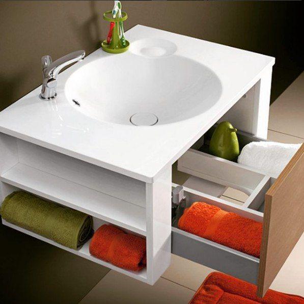 Оригинальный умывальник и тумба Belux  Яркое решение для вашей ванной комнаты.  Больше выбора в каталоге: http://santehnika-tut.ru/mebel-dlya-vannoj/ #санузел #плитка #сантехника