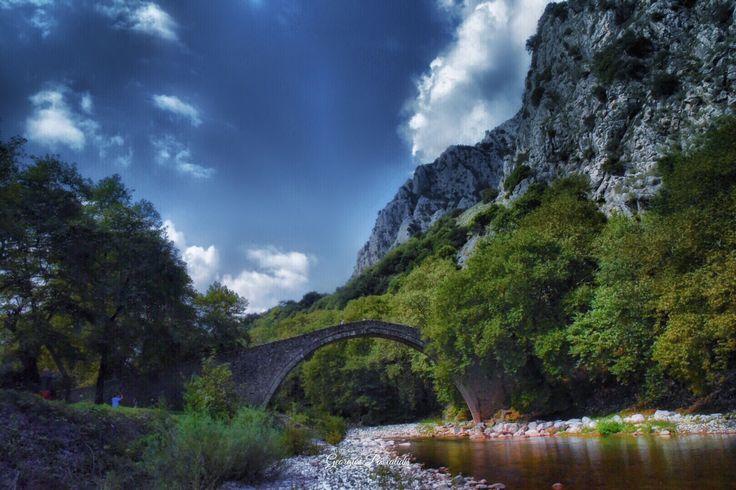THESSALLY.....GREECE.....BRIDGE .....1514...
