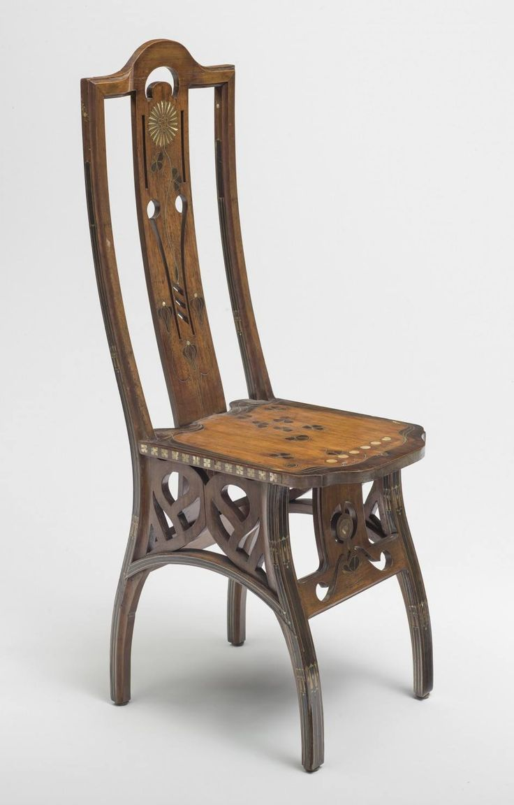 Rare original beech stained chair by eugene gaillard circa 1900 at - Chaise Chair By Eugenio Quadri C