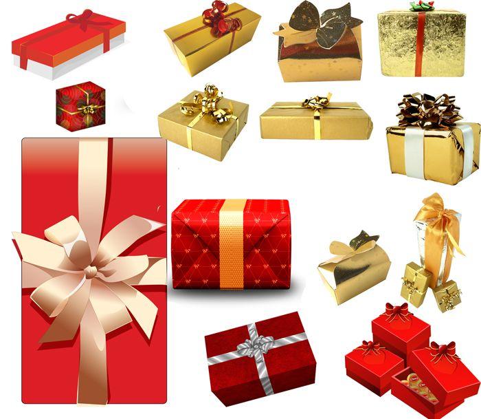 Подарки — Клипарты для фотошопа