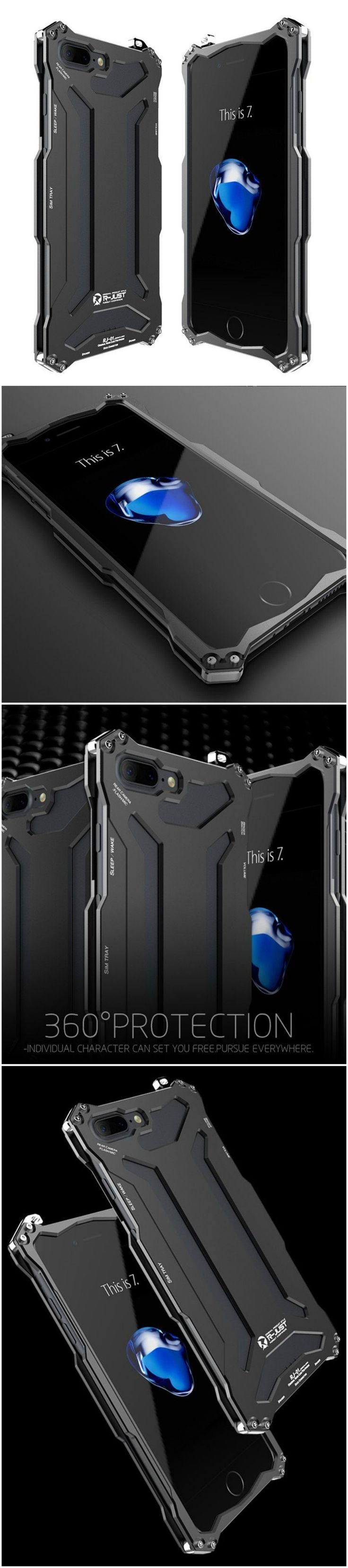 Newest iPhone 7 Plus fashion slim case with style for the savvy users. Fits well into workout and gym clothes. Great gift home accessory products for Apple iPhone 7 Plus owners, gizmos lovers, current smartphone and cellphone owners, shoppers who o are active in health and fitness and travel  #tech