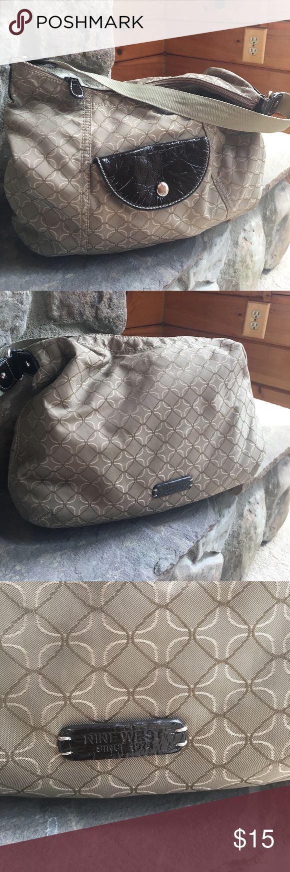 Nine West purse Polyester and nylon makes it easy to clean Nine West Bags Hobos
