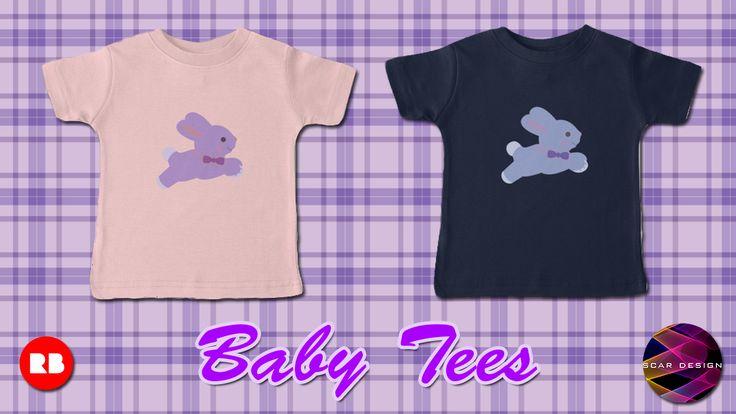Baby T-Shirts by Scar Design #baby #tshirt #babytshirt #babygifts #babytshirts #buybabyclothes #redbubble #babyclothing #coolbabygifts #coolbabytshirt #bunny #babybunny #bunnybabytshirt #giftsforbabies #babyshower #babyshowergifts #familyshopping #onlineshopping #kidstshirts #awesomegifts