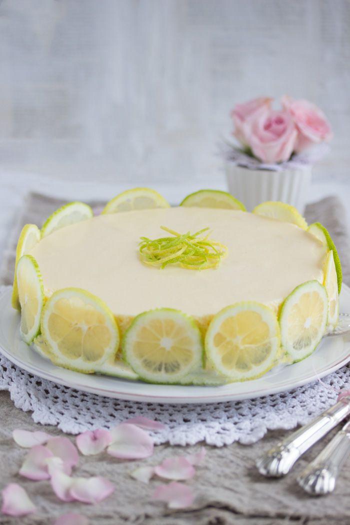 Cremiger Zitronen Käsekuchen