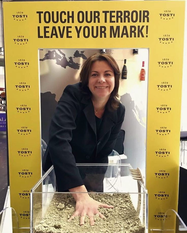 Touch our terroir  leave your mark!  #tbt #prowein2016 #tosti1820 #cardamaro #wine #prowein #2016 #dusseldorf #fair #italy #land by tosti1820