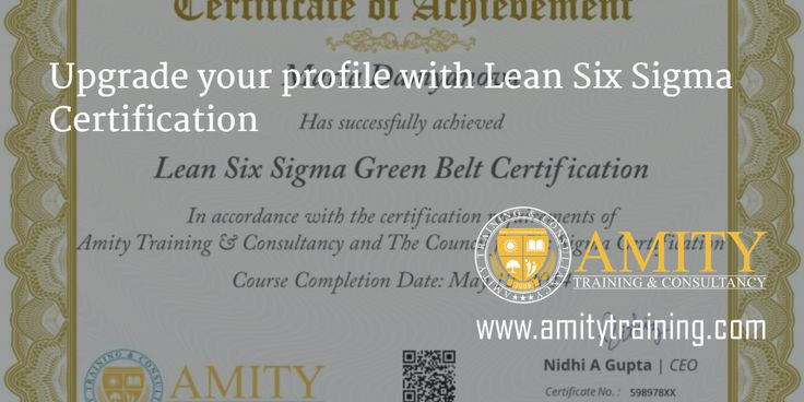 Upgrade your profile with Lean Six Sigma Certification #Lean #SixSigma #Certification http://bit.ly/six-sigma-certification