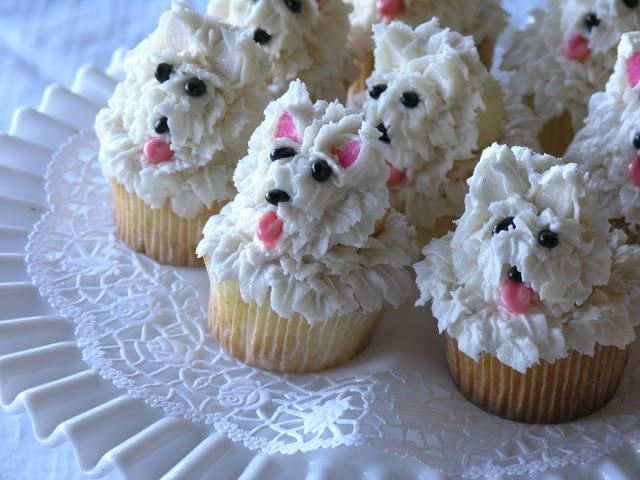 Pup Inspired Cupcake Ideas