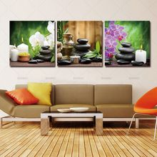 )No Frame Spring Stone Bamboo Image Canvas Painting Home Decoration Pictures Wall Pictures For Living Room Modular Pictures -- Find similar lovely pieces on  AliExpress.com. Just click the VISIT button. #HomeDecor