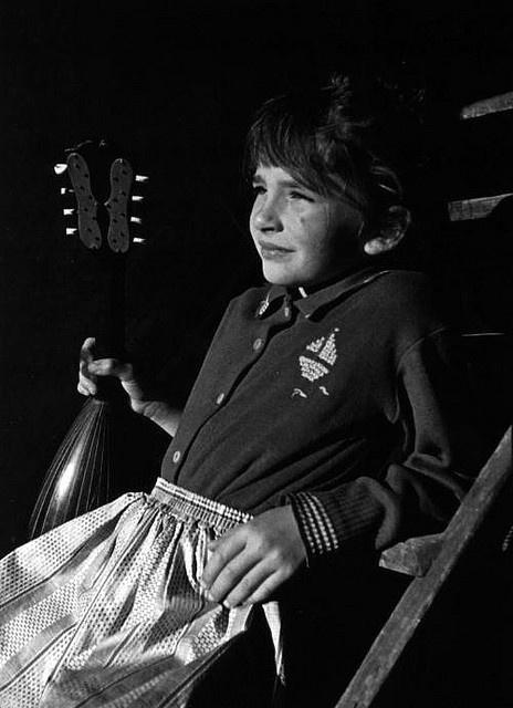 Kate Bush as a child