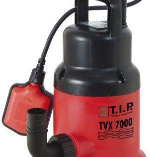 T.I.P. 30268 Pompe submersible pour eaux usées TVX 7000: Pompe adaptée à de nombreuses utilisations - Arbre de moteur en acier inoxydable…